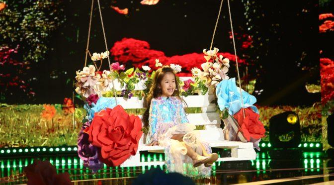 Liu Nan  la Mini Stars Kids Du monde enflamme et  émouvante prestation  à next star