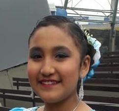 JAQUELYNE KIREY 12 ans du Pérou une danseuse incontournable