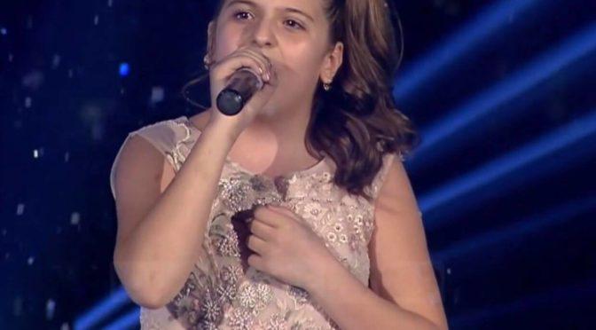 Erza Hasolli finaliste The Voice Kids of Albani présente son nouveau clips